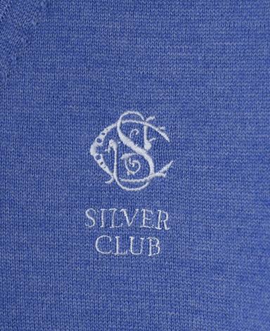 SilverClub Vネックベスト