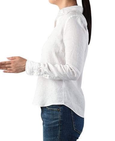 スキッパークラシックシャツ/リネン