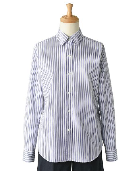 クラシックシャツ/Wモデル/ピンオックス