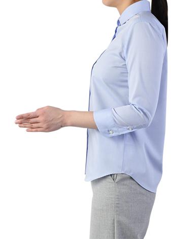 七分袖 クラシックシャツ/パルパー PALPA