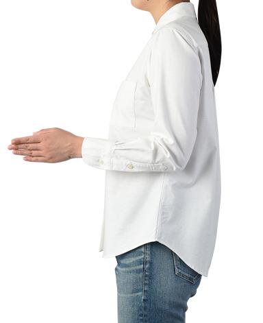 レディース プレミアムコットンシャツ/オックスフォードシャツ