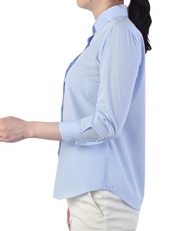 七分袖クラシックシャツ
