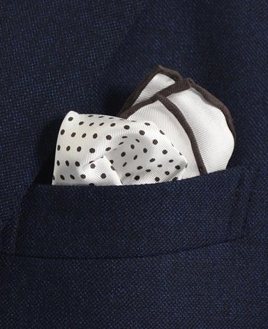 シルクポケットチーフ/Made in Japan