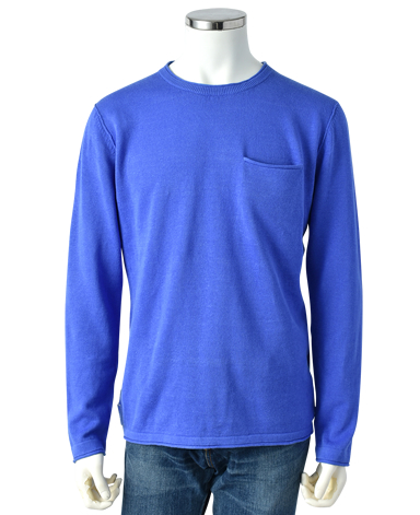 ESCALES/ラウンドネックセーター