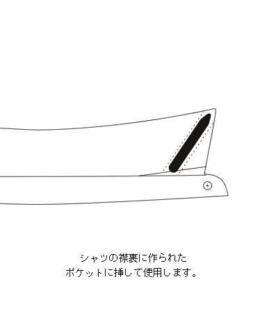 カラーステイ[2](フォルテルミラー)/57mm/3セット(6本入)