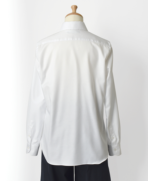 ピンホールスキッパーシャツ/ツイル