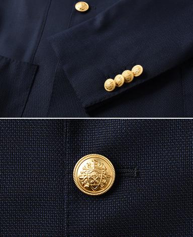 イタリア製ダブルジャケット/(金ボタン)