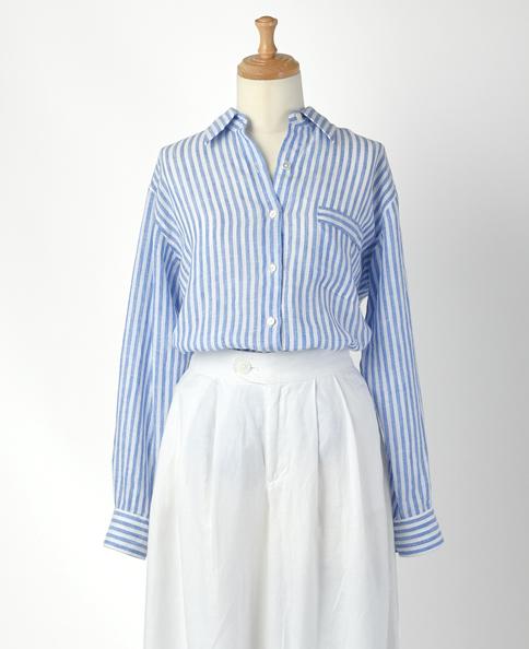 フリーサイズシャツ/リネン