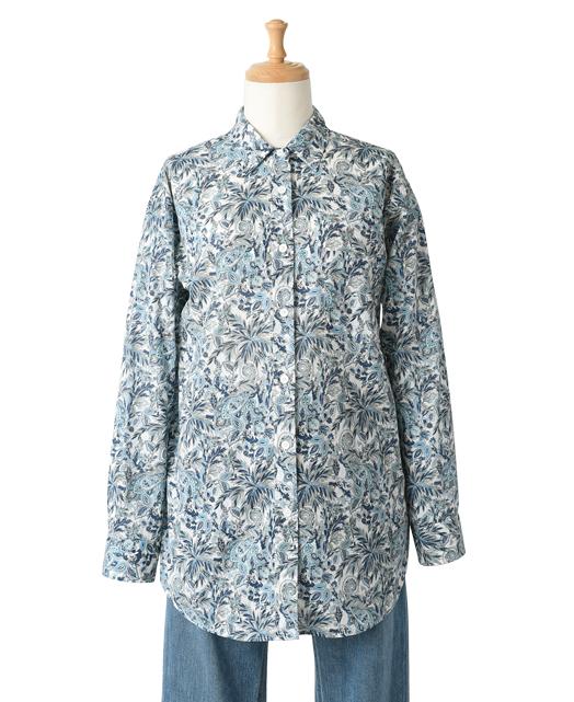 フリーサイズシャツ/ease / リバティファブリックス