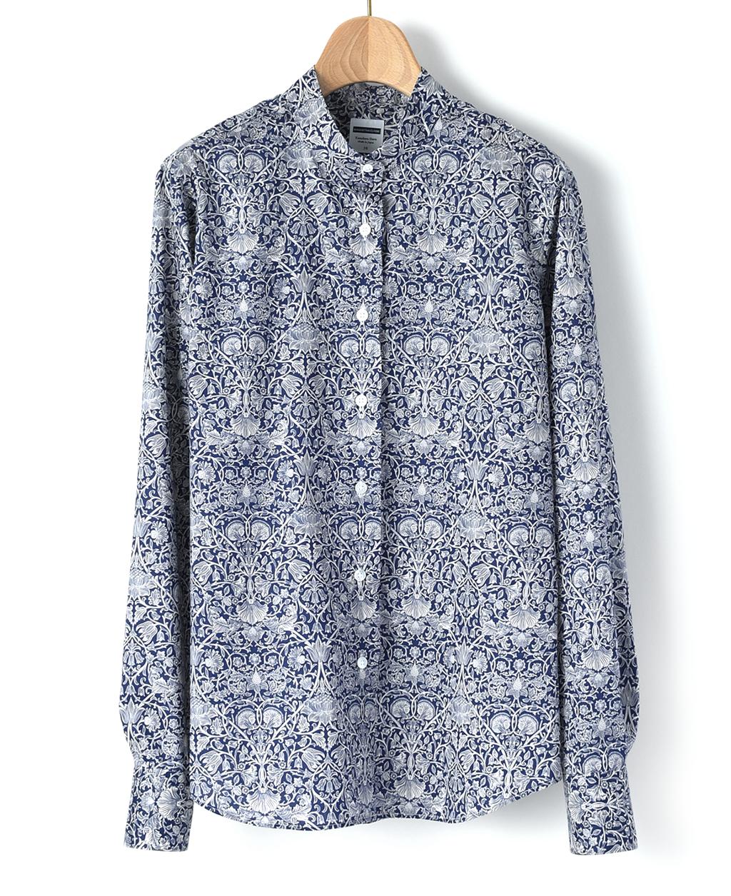 b86f79f290db42 マンハッタンクラシックシャツ(36サイズ / 7号 ブルー系): レディース ...
