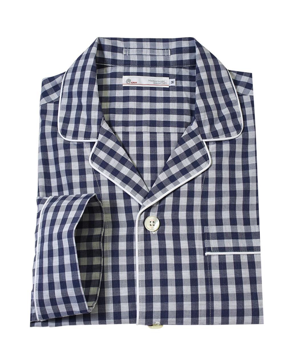 86cb2b41c0788e メンズ綿パジャマ(L ブルー系): メンズ | メーカーズシャツ鎌倉 公式通販 ...