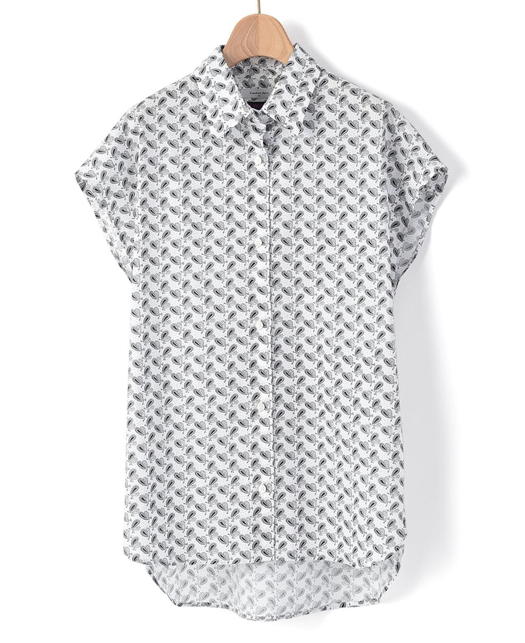 f574bd95554ea6 カジュアルシャツ(36サイズ / 7号 白): レディース | メーカーズシャツ ...
