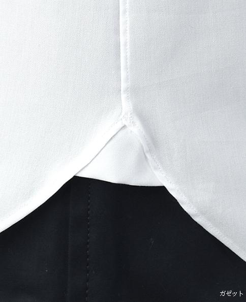 ピンタックブザムシャツ/ピンポイントオックスフォード