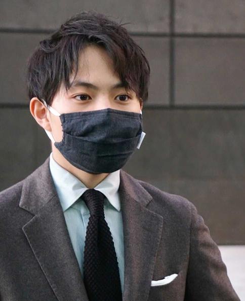 カシミヤブレンドマスク