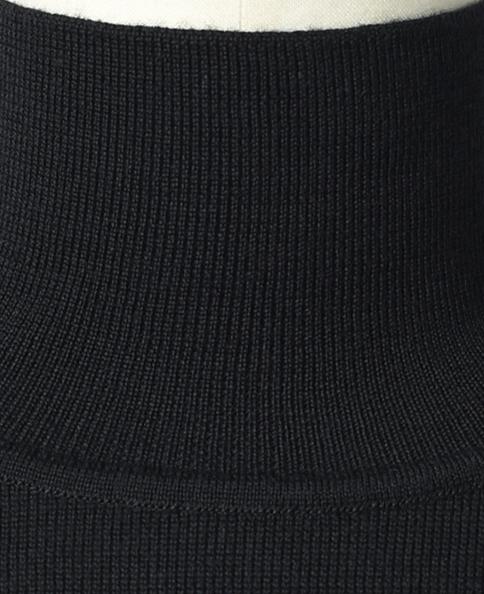 ハイネックセーター/14ゲージ