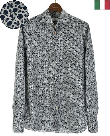 ナポリシャツ/イタリア製(綿)