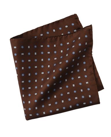 シルクポケットチーフ/CALABRESE