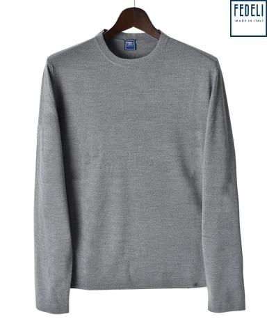 FEDELI ニット/クルーネックセーター