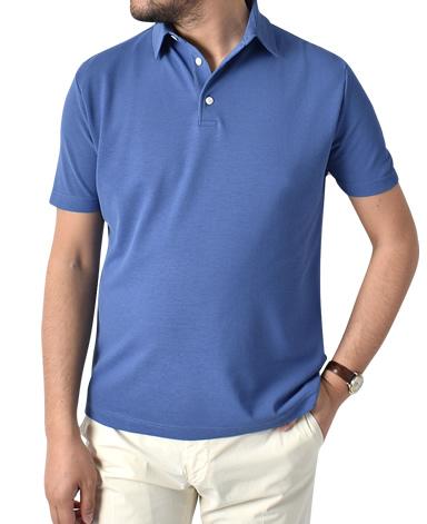 強撚半袖ポロシャツ