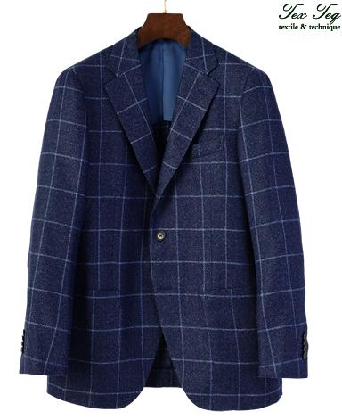 ウールリネンシルクジャケット/ナポリモデル|MARLING&EVANS