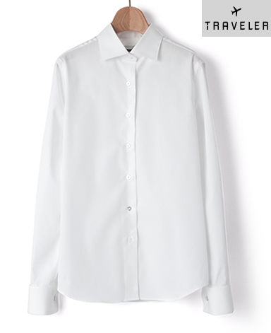 Wカフス マンハッタンクラシックシャツ/パルパー PALPA