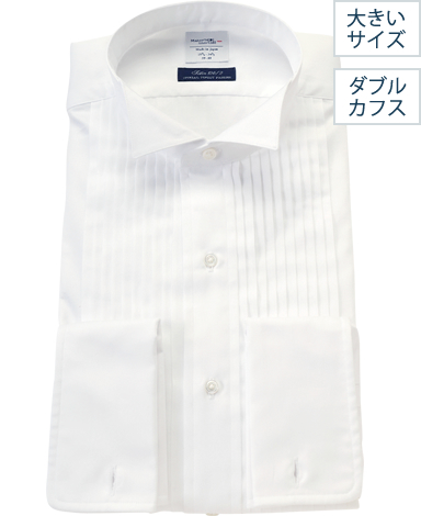 NYフォーマルシャツ/サテン