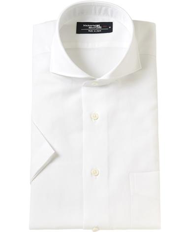 半袖シャツ/綿麻