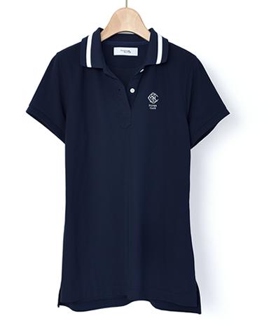 レディース ゴルフポロシャツ/[M、Lサイズ追加]