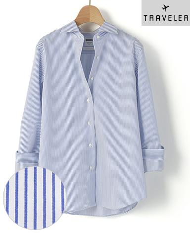 マンハッタンクラシックシャツ/スマートクロス