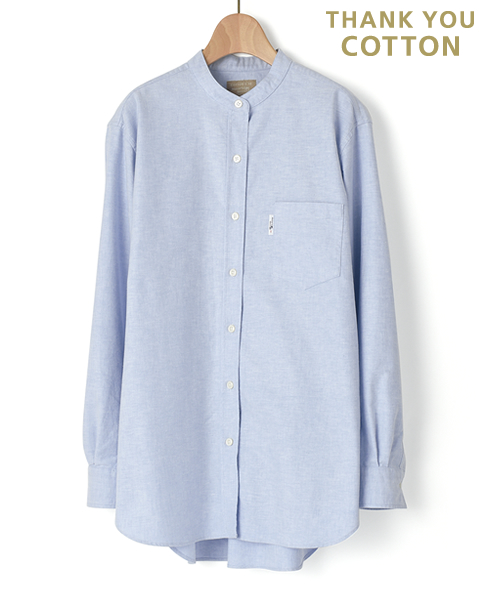 レディース プレミアムコットン/オックスフォード フリーサイズシャツ