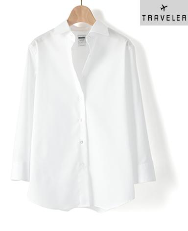 七分袖 マンハッタンクラシックシャツ/パルパー PALPA