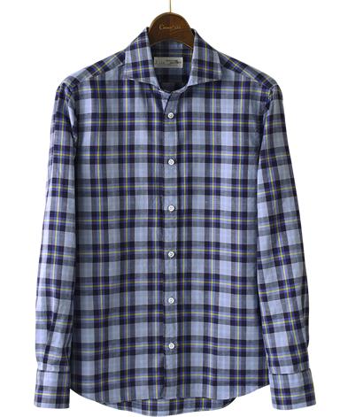 カジュアルシャツ UNTUCKED/綿麻
