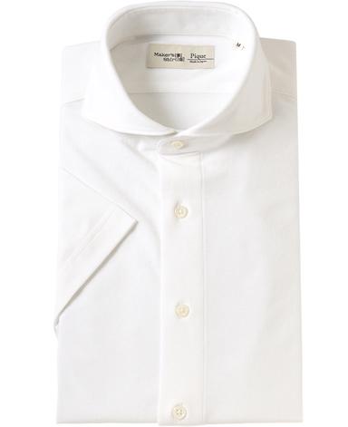 半袖強撚ピケシャツ/ICE TWIST