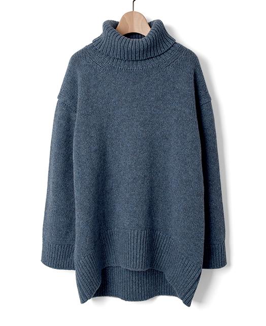 ローゲージセーター/ウール